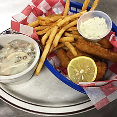 Walleye Finger Basket