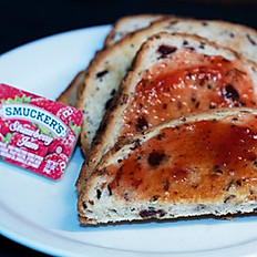 Wild Rice Cranberry Toast