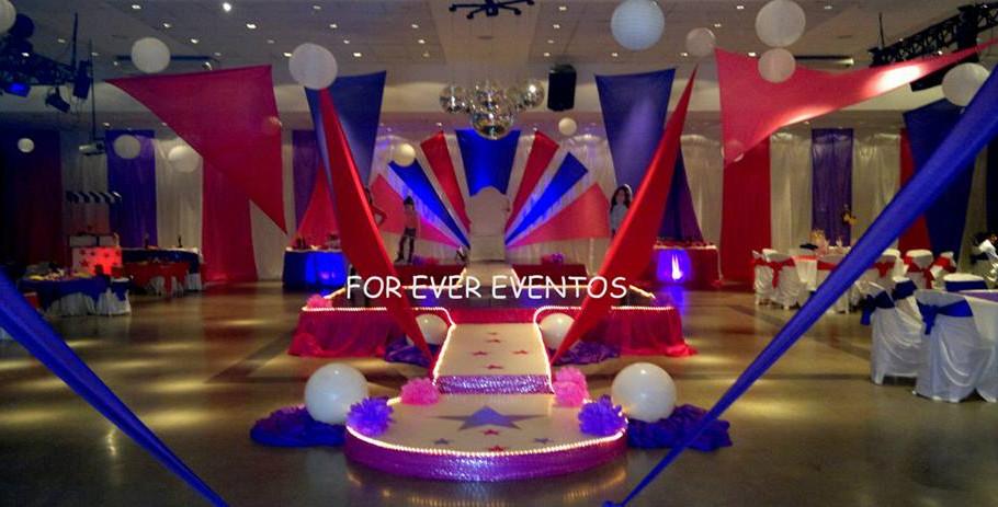 for ever eventos 15 años