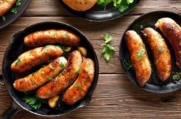 Chicken Wine & Garlic Sausage