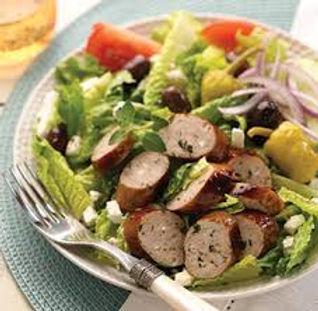 Chicken Spinach & Feta Sausage