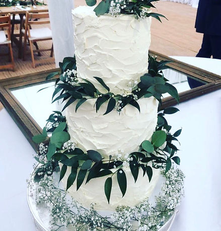 Lemon and Elderflower Wedding Cake