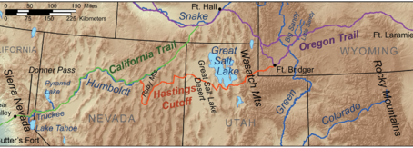 Following the Donner Party