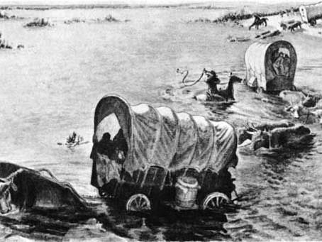 A dangerous crossing: May 1846