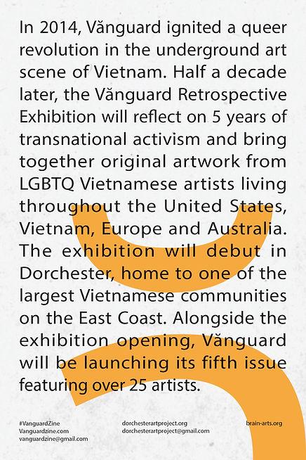 Vanguard Retrospective Exhibition