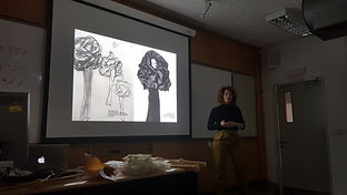 Fabric Materilaity seminar lecture photo