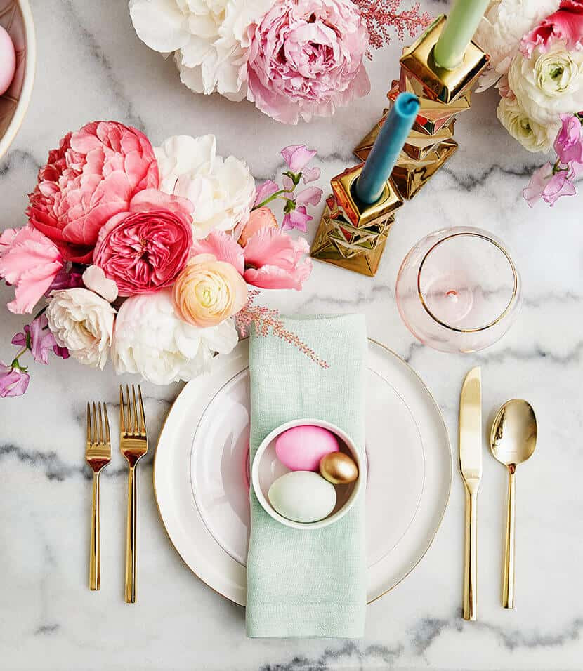 Pastel Easter Table