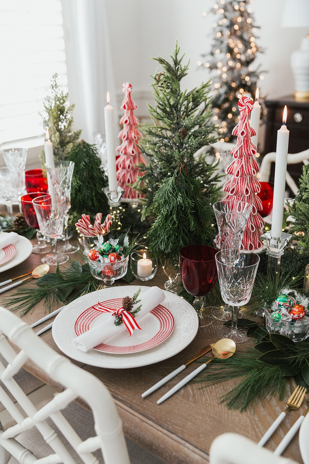 Christmas with a touch of colour