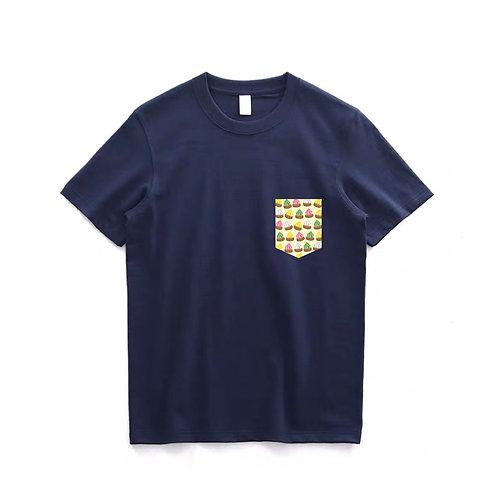 Gem Biscuit Fake Pocket Tshirt