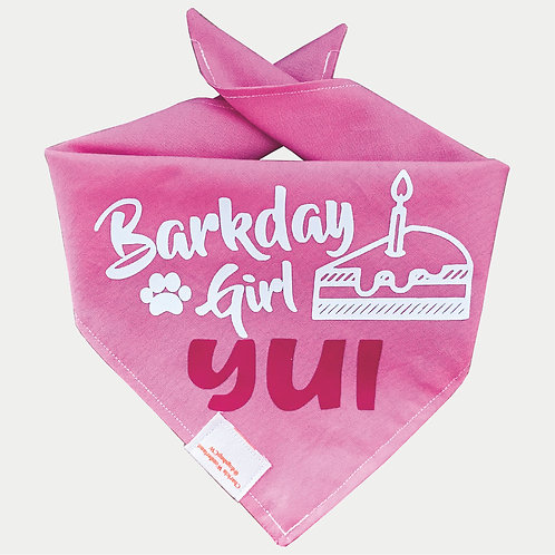 Barkday Bandana