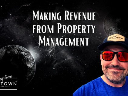 Making Revenue from Property Management