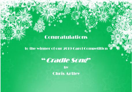 Chris Artley named winner of the 2nd Leeds Philharmonic Christmas Carol Competition!