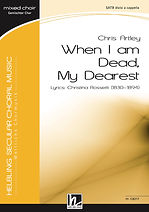 C8317_When i am Dead, My Dearest_Cover.j