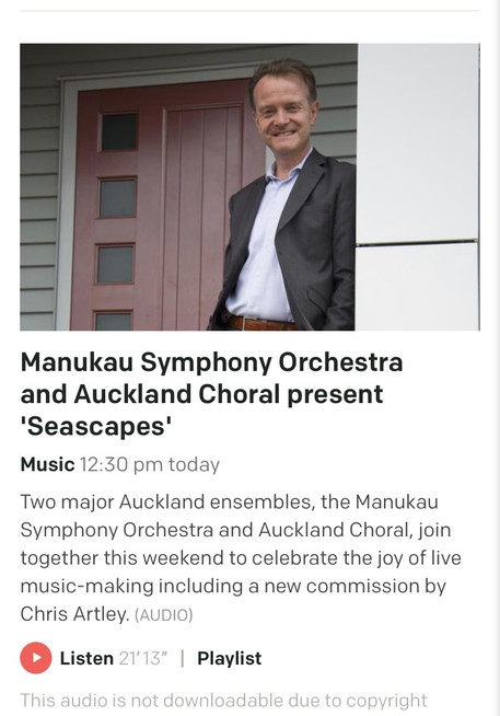 Upbeat Interview on RNZ Concert!
