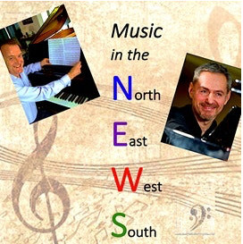 Music in the NEWS - a concert of music by Chris Artley (NZ/UK) and Vladimir Romanov (Germany/Russia)