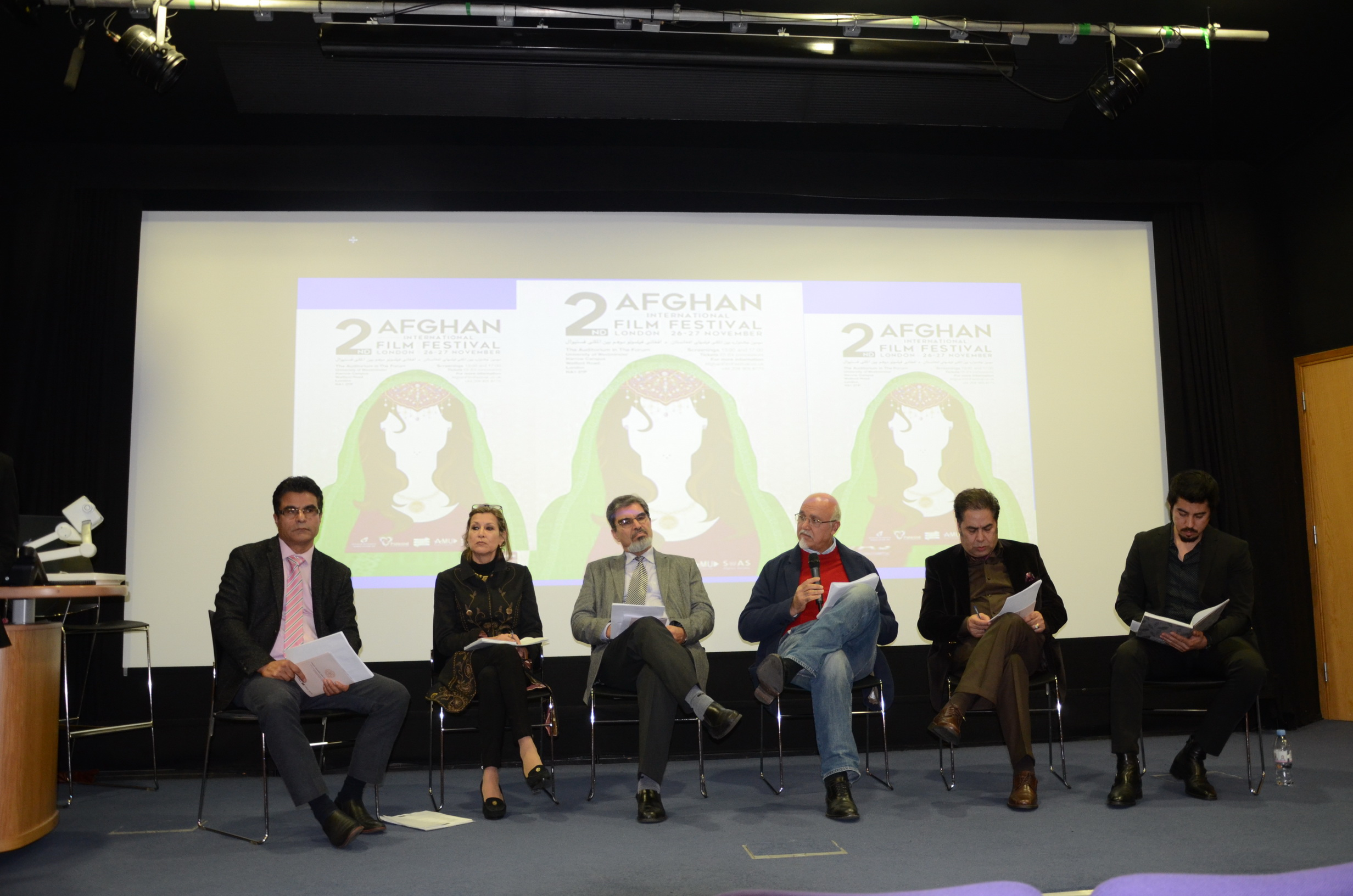 Judges:  2nd Afghan international film festival in London