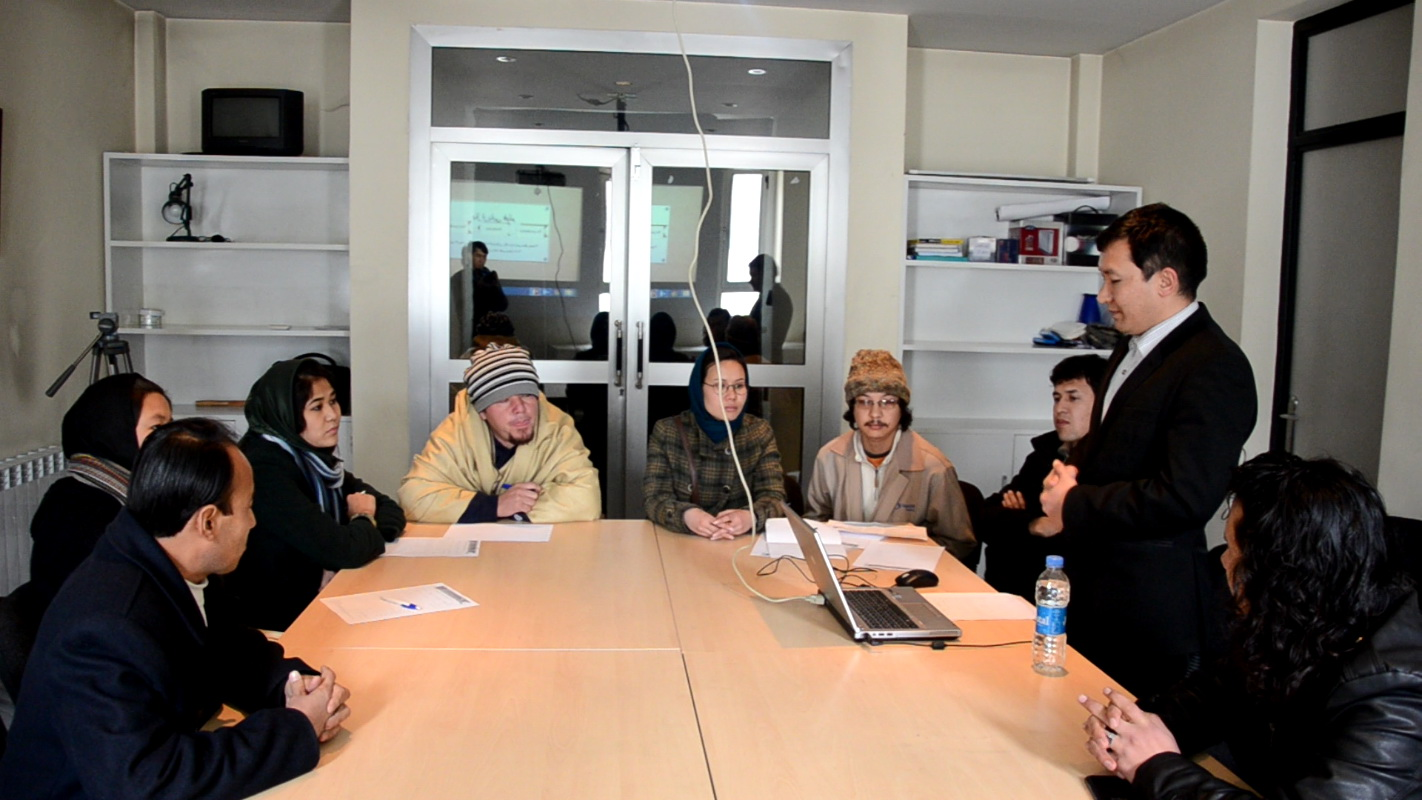 Kabul  film marketing workshop