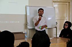 Supervisor and teacher; Rahman Alemi