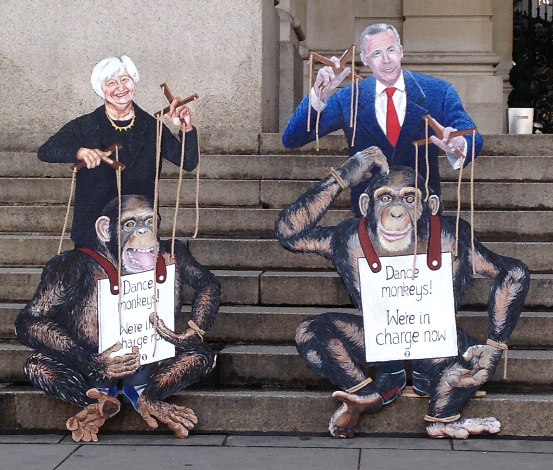 """""""Dance monkeys, we're in charge now"""""""