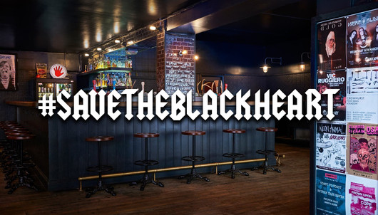 LOUDER NEWS: 'Save The Black Heart' raises over 65% on CrowdFunder with two weeks to go