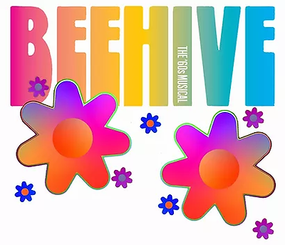 Beehive Multi color and flowers.webp