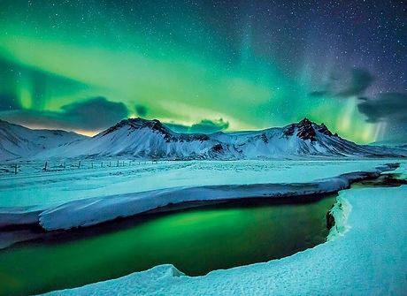 Aurora-borealis-peninsula-Snaefellsnes-I