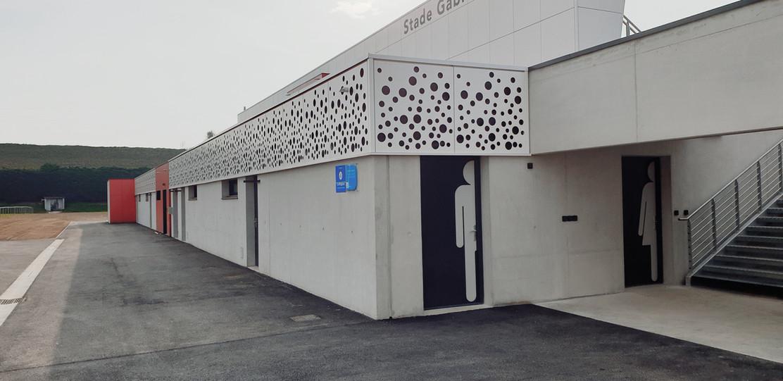 TRIBUNE 300 PLACES I Portes Les Valence