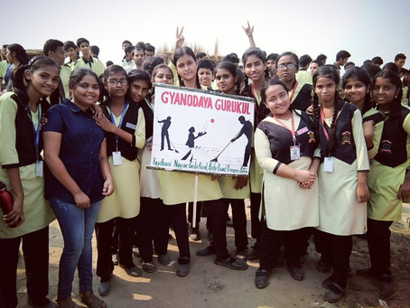Clean Ganga Drive by our students and teachers!