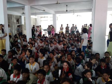 ज्ञानोदय गुरुकुल में बाल दिवस का आयोजन