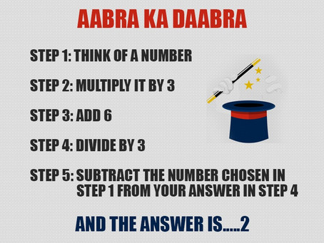 Mind Reading Math Trick