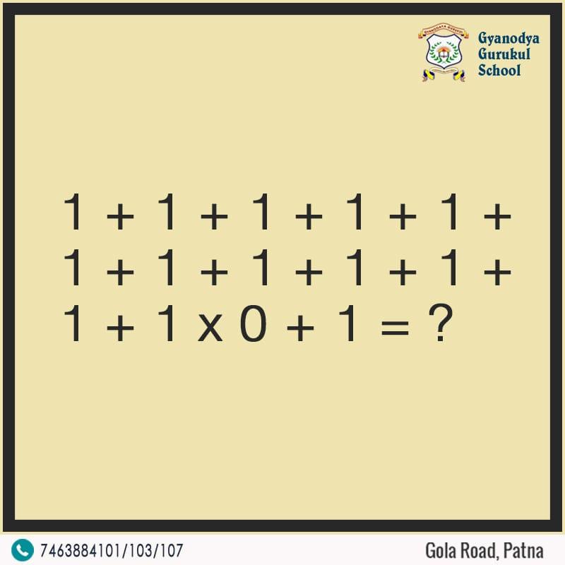 Simple maths problem