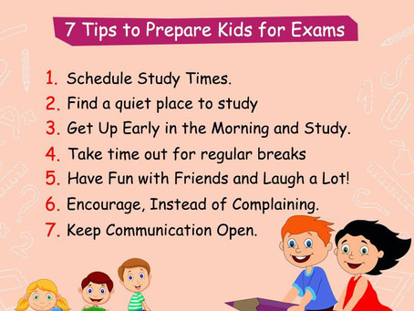 Top 7 Tips to prepare well for the exams