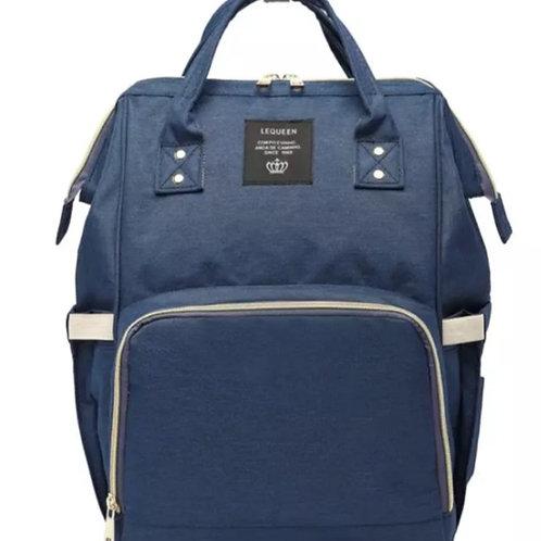 Baby changing bag blue