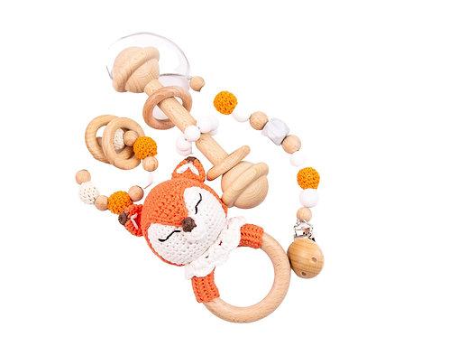 Wooden Crochet gift set