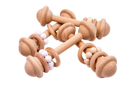 Wooden rattles
