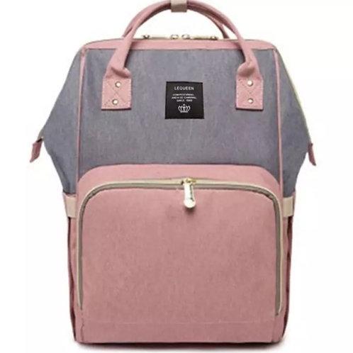 Baby changingBag Pink/grey