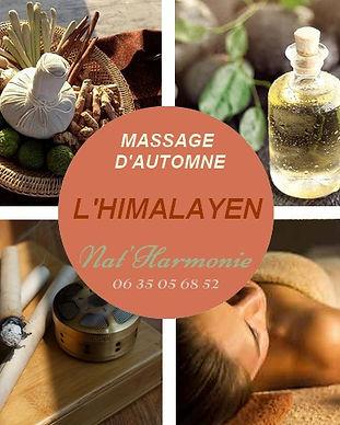 massage d'automne
