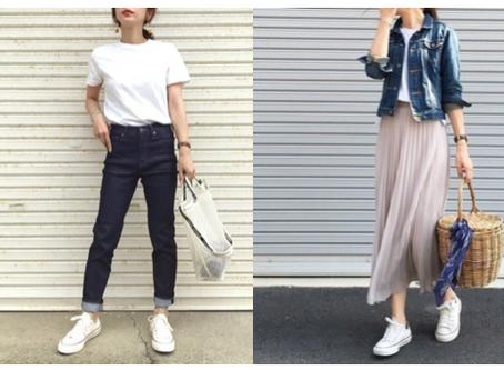 【小柄さんの悩み・スニーカーの選び方】ANNAの小柄ファッション講座Vol.6