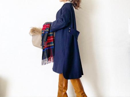 ma_anmi(manaさん)コラボレーション3小柄さんのための渾身のベルテッドドレープコート