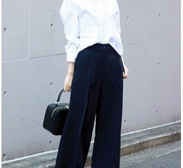 【すべての小柄女子におすすめしたい「ワイドパンツ」の着こなしポイント】ANNAの小柄ファッション講座Vol.10