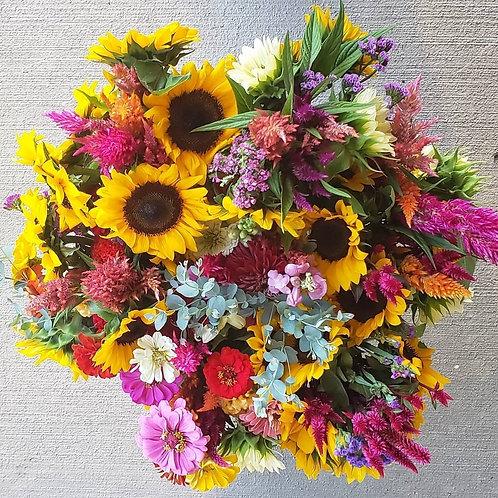 2021 Summer Flower Subscription {4 Bouquets}