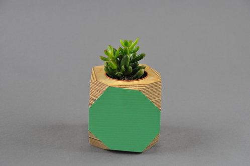 GEO VESSEL  - Mint green SIDE