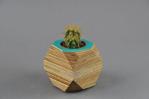 GEO VESSEL - Turquoise TOP