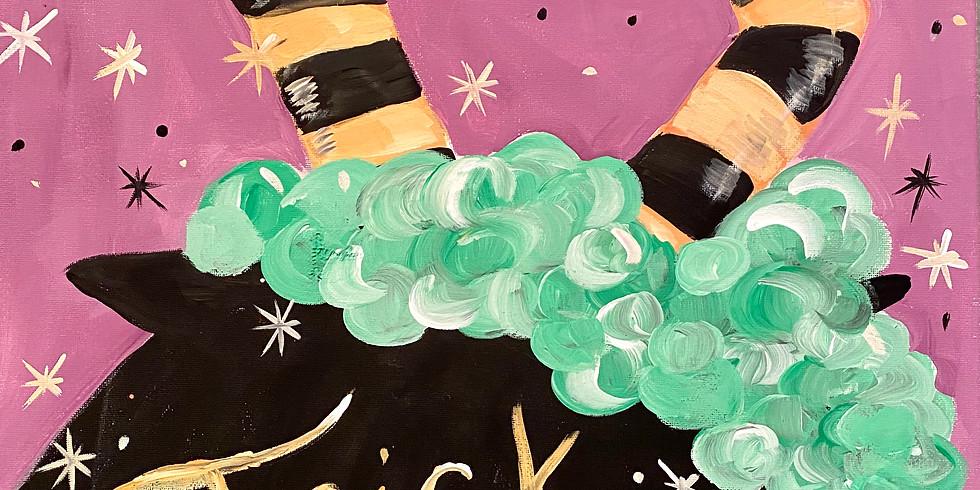 Children's Halloween Paint Party