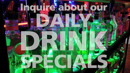 Rumors - Check out our schedule for advertised drink specials!