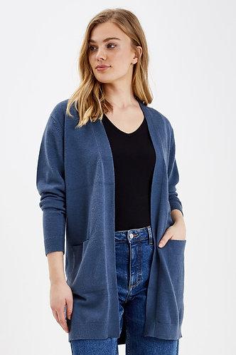 Vest byNonina jeansblauw