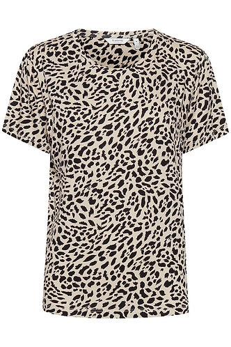 t shirt leopard