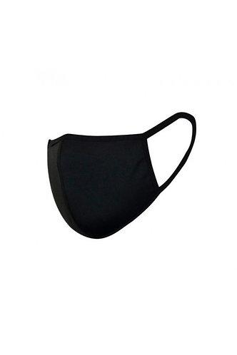 3 stuks mondkapje zwart van 100% katoen
