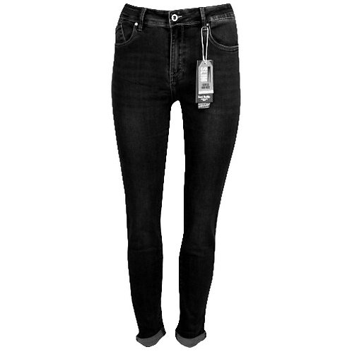 Push up jeans zwart