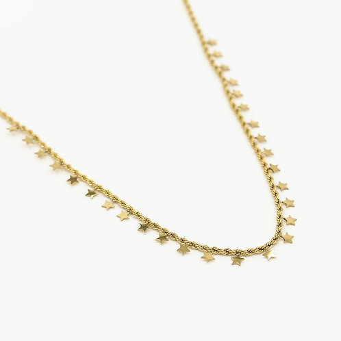 Ketting *YOU are a star* gold